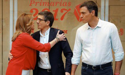 'Bullying' en el PSOE: López y Díaz le miden el lomo a Sánchez