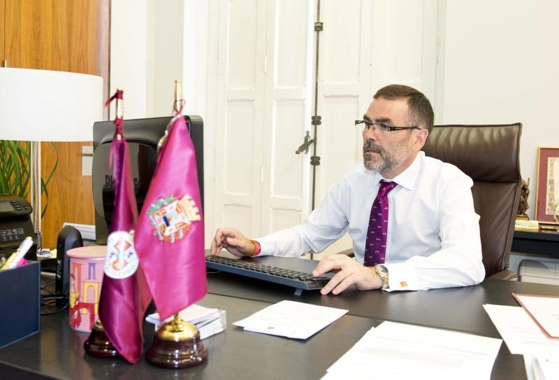 """José López, alcalde de Cartagena: """"Somos la ciudad con más sentimiento de españolidad de toda la nación"""""""