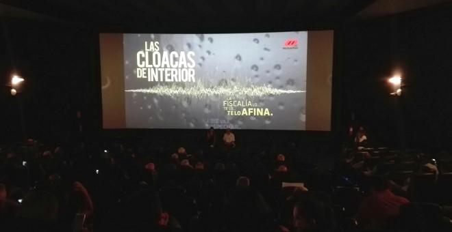 Gran expectación en Madrid en el estreno del documental 'Las Cloacas de Interior'