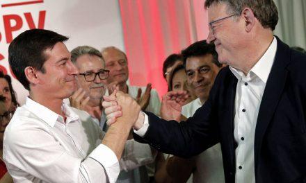 """Ferraz no siente un """"fracaso"""" la derrota del candidato sanchista frente a Puig en Valencia"""