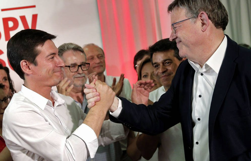 Ferraz no siente un «fracaso» la derrota del candidato sanchista frente a Puig en Valencia