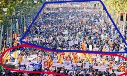 Así se montó la ratonera separatista: «Eso era un plató montado por Colau y la ANC contra España»