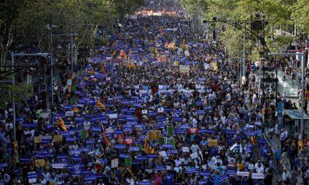 El independentismo aprovecha la manifestación de Barcelona y el discurso de unidad se desvanece