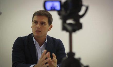 """Albert Rivera: """"Solo se podrá dialogar si primero hay elecciones"""""""
