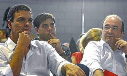 """Críticas a Pedro Sánchez en el PSOE: """"En Ferraz quien manda es el PSC"""""""