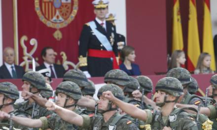 Defensa cambia el lugar del desfile militar del 12 de Octubre en Madrid