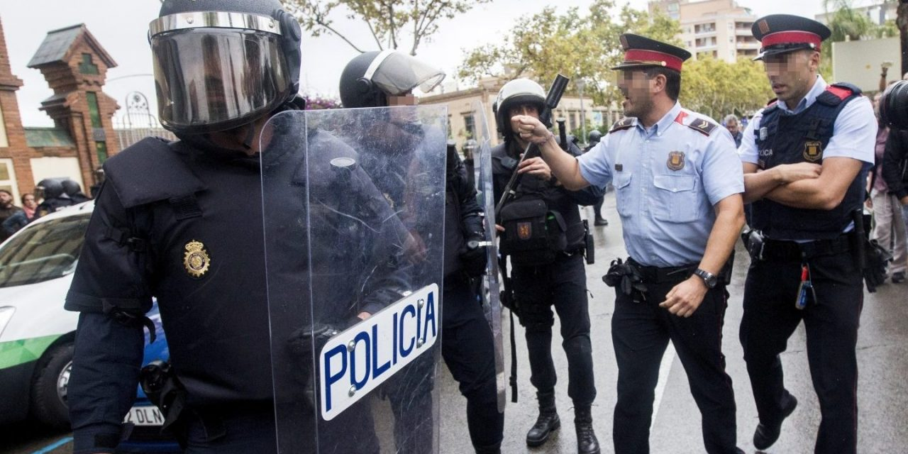 EL CHOQUE CON LOS MOSSOS EL 1-O REAVIVA LA EXIGENCIA DE POLICÍA Y GUARDIA CIVIL DE IGUALAR SUELDOS