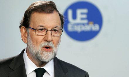 """Rajoy: """"El 155 se aplicará para recuperar la legalidad y normalidad institucional"""""""