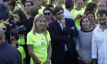 Ferreras perdona la vida a la jefa de los jetas independentistas que viajaron a Bruselas a cargo del erario público