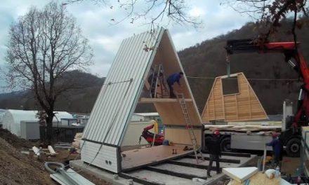 Un italiano diseña la casa del futuro: sólo cuesta 28.000 euros y se tarda seis horas en construir