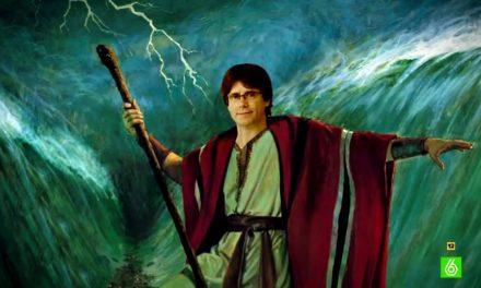 Moisés hace mutis de la tierra prometida