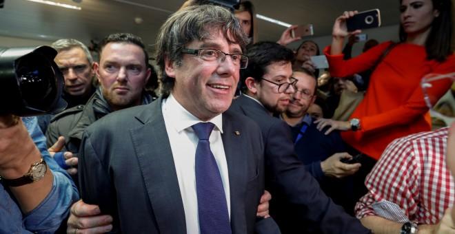 La jueza ordena detener a Puigdemont y a los exconsellers que se fueron a Bélgica