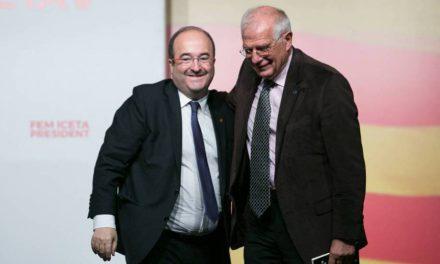 "Borrell, a Iceta: ""Antes de cerrar las heridas hay que desinfectarlas"""
