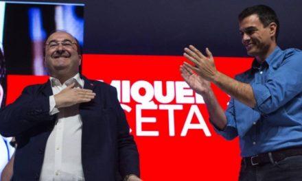 Iceta puede dar a Pedro Sánchez su primera alegría en unas elecciones