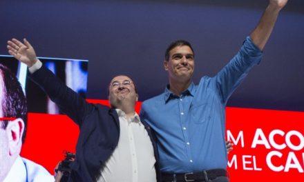 """Sánchez dice que Iceta será president """"porque es el único que no sufre vetos"""""""