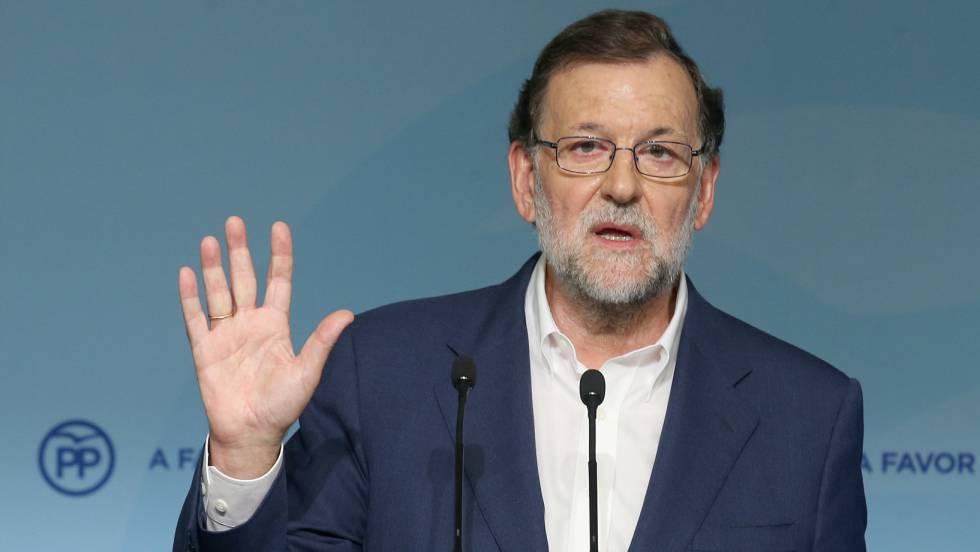Rajoy está dispuesto a hablar «con quien ganó las elecciones, la señora Arrimadas»