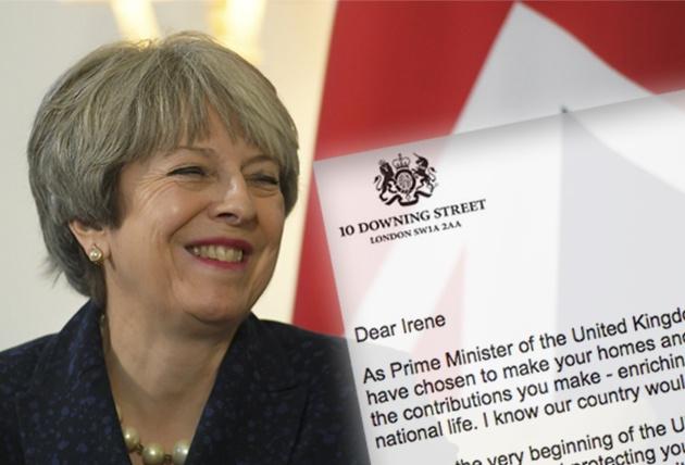 """""""Quiero que te quedes, Feliz Navidad"""": Theresa May envía un e-mail a los españoles en Reino Unido"""