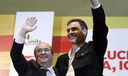 Sánchez espolea a Iceta: «Hay un espíritu de remontada»