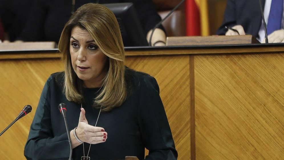 Susana Díaz descarta el adelanto electoral