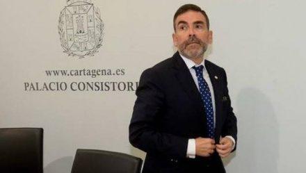 El exalcalde de Cartagena, pendiente de devolver 125.000 euros de su sueldo público