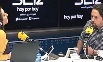 """Pepa Bueno le da un magistral baño al prepotente Iglesias: """"¿Por qué no apoyaron a Ciudadanos en el Parlamento catalán?"""""""