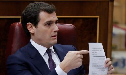 "Albert Rivera sobre Rajoy: ""Yo no le di un cheque en blanco"""