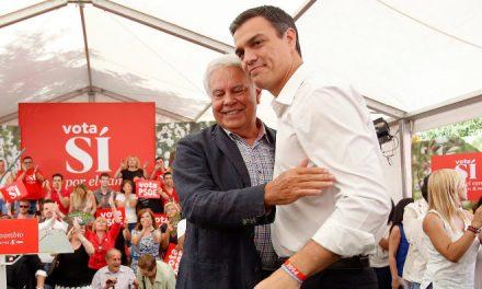 Felipe González y Pedro Sánchez comen juntos en Madrid días antes de un Comité Federal con bajas