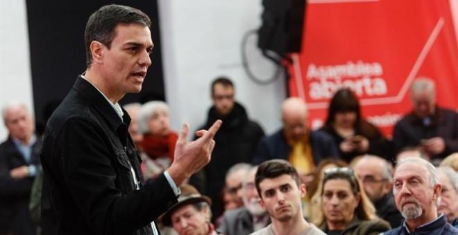 """Sánchez se suma al grito """"no nos resignamos"""" y llama a la """"rebelión"""""""