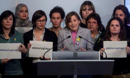 El 155 divide a las feministas catalanas ante el 8M