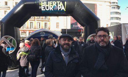 Ciudadanos reitera en Madrid su apoyo al Manifiesto Levantino por el Agua y pide que se despolitice la solución para el déficit hídrico de la Región