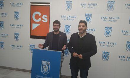 Ciudadanos San Javier exige al Gobierno regional que ponga en marcha un plan de impulso económico y turístico para compensar el cierre del aeropuerto