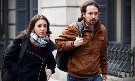 """Irene Montero y Pablo Iglesias anuncian que serán padres de """"dos criaturas"""""""