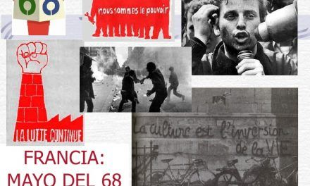 El MAYO DEL 68 CUMPLE 50 AÑOS