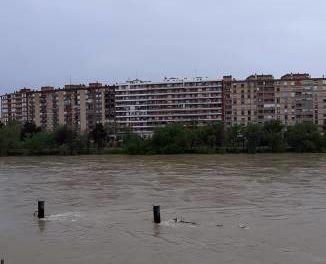El Ebro vierte al mar dos trasvases anuales del Tajo-Segura en tan sólo diez días
