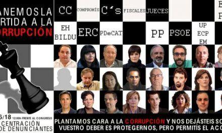Denunciantes y víctimas de corrupción solicitan protección al gobierno