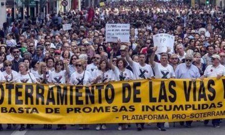 El PP mete prisa a las obras del muro de Murcia