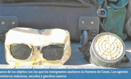 Así vivieron el asalto los guardias civiles de Ceuta: «Es imposible defender la frontera»