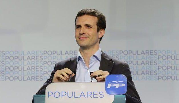Casado presume de trabajar con el equipo de Cospedal y de tener el apoyo del resto de candidatos que no son Santamaría