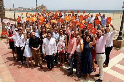 Más de 200 afiliados de Ciudadanos se citan en Águilas en una jornada de convivencia