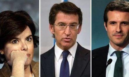 Feijóo convertirá en presidente del PP a Soraya o a Pablo Casado