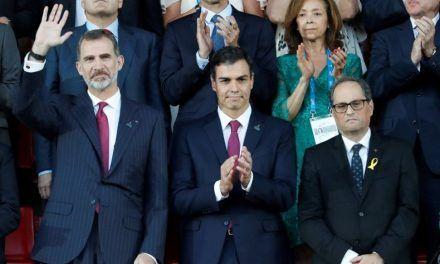 El independentismo calienta la visita del Rey a Barcelona por el 17-A