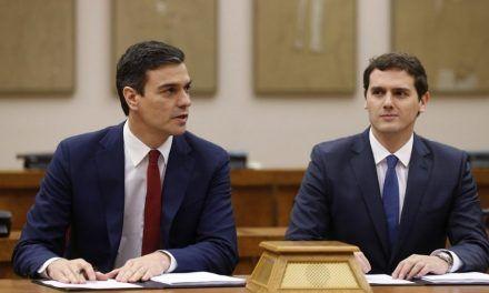 Pedro Sánchez y Albert Rivera no se hablan