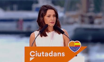 Inés Arrimadas: «No hay lealtad en un 'Govern' que desea abrir las cárceles»