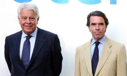 Felipe González y José María Aznar debaten sobre la Constitución