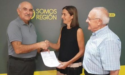 Alberto Garre presenta su candidatura a la Presidencia de Somos Región