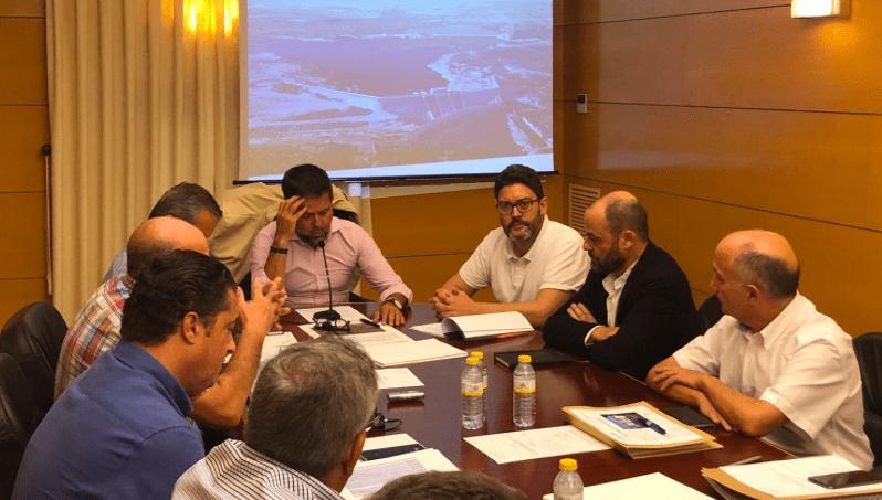 Ciudadanos apoya la inversión que reclaman los regantes de Lorca para mejorar el abastecimiento desde la desalinizadora de Águilas