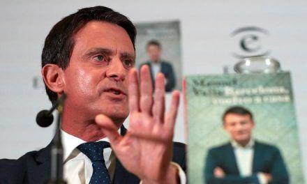 Vox provoca a Manuel Valls: «Manolo, no tienes ni idea de lo que pasa en España. Vete a Martinica»