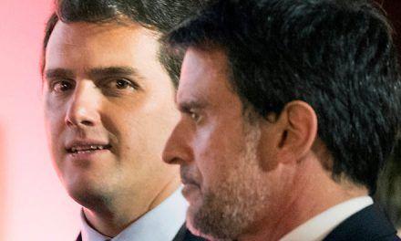 El pacto de Albert Rivera y Manuel Valls se agrieta por los guiños a los socialistas