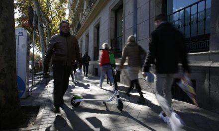 Los patinetes ya invaden las calles de Madrid: 22 accidentes, 18 heridos, dos de ellos graves