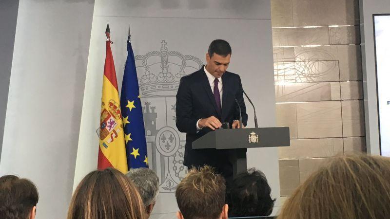 Media España pide el 155 y el 77% no se fía de Sánchez